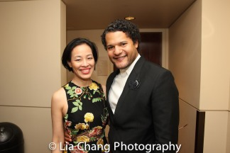 Lia Chang and Brandon J. Dirden. Photo by Garth Kravits