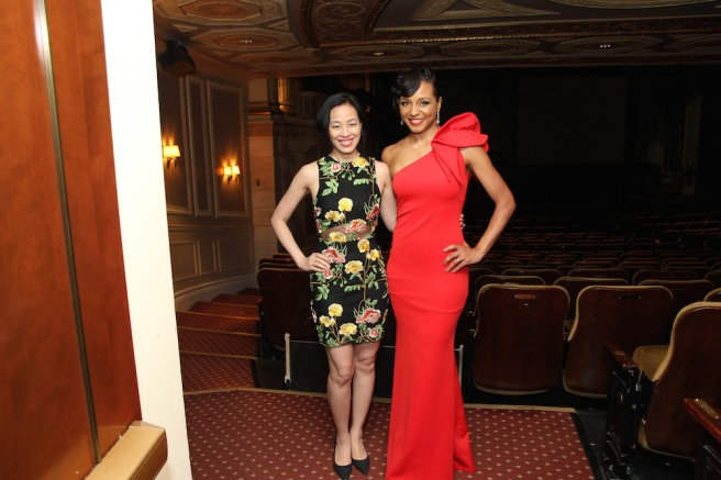 Lia Chang and Carra Patterson. Photo by Garth Kravits
