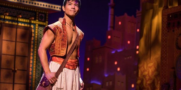 Telly Leung as Aladdin. Photo by Matthew Murphy