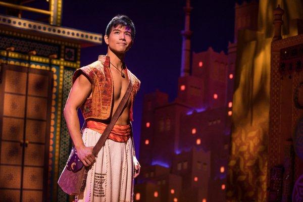 Telly Leung as Aladdin. Photo by Matthew Murphy