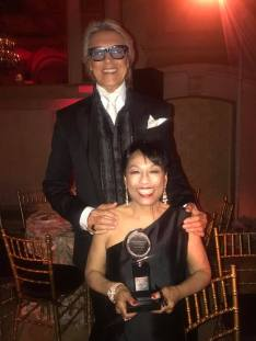 June 11, 2017: Baayork Lee and Tommy Tune. Photo: NAAP/Facebook