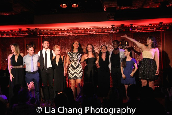 The cast of Broadway by the Tear Photo by Lia Chang