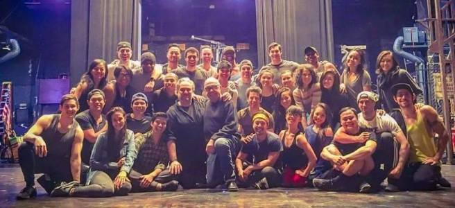 The cast of MISS SAIGON Courtesy of NAAP/Facebook