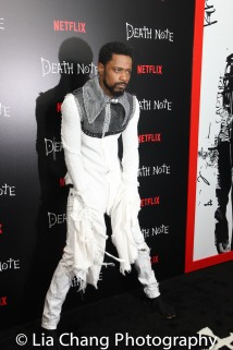 LaKeith Stanfield attends the 'Death Note' New York premiere at AMC Loews Lincoln Square 13 theater on August 17, 2017 in New York City. Photo by Lia Chang