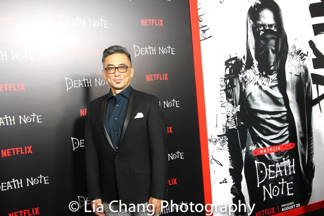 Paul Nakauchi attends the 'Death Note' New York premiere at AMC Loews Lincoln Square 13 theater on August 17, 2017 in New York City. Photo by Lia Chang