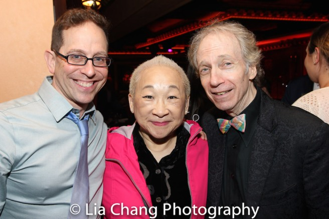 Garth Kravits, Lori Tan Chinn and Scott Siegel Photo by Lia Chang