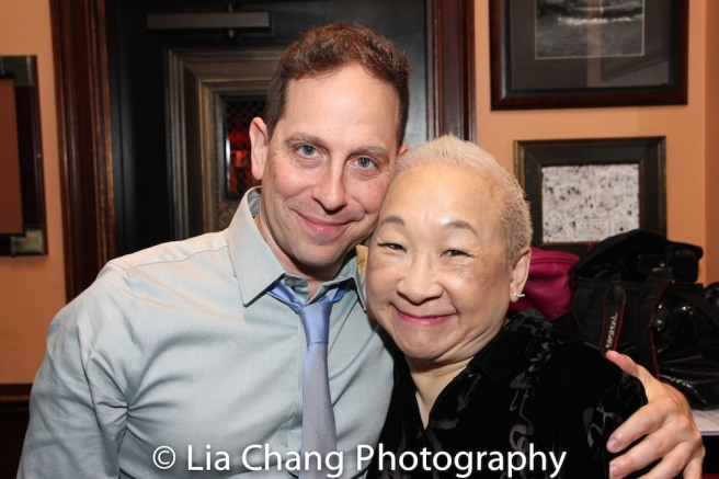 Garth Kravits and Lori Tan Chinn Photo by Lia Chang