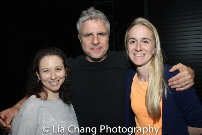 Abigail Katz, Neil Pepe and Annie McRae. Photo by Lia Chang