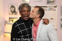 André De Shields and Noah Brody Photo by Lia Chang