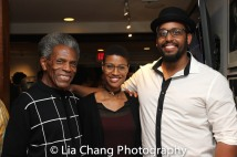 André De Shields, Jenay M, David Samuel Photo by Lia Chang