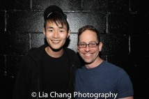 Christopher Larkin and Garth Kravits Photo by Lia Chang