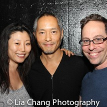 Deborah S. Craig, Ken Leung and Garth Kravits. Photo by Lia Chang