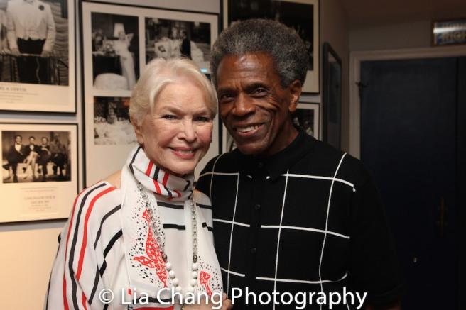 Ellen Burstyn and André De Shields Photo by Lia Chang