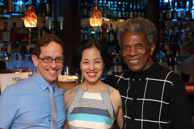 Garth Kravits, Lia Chang and André De Shields Photo by Kyle Scatliffe