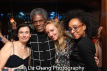 Hannah Cabell, André De Shields, Evan lee Breed and Olivia Bowman-Jackson Photo by Lia Chang