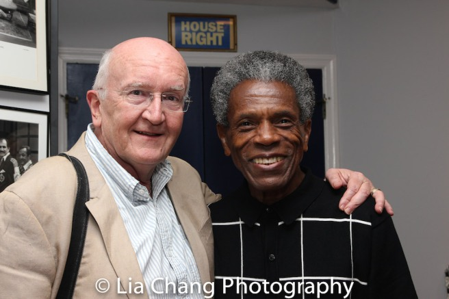 Director John Doyle and André De Shields Photo by Lia Chang
