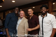 Kyle Scatliffe, Director John Doyle, Bob Stillman and David Samuel Photo by Lia Chang