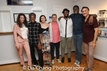 Leenya Rideout, André De Shields, Hannah Cabell, Noah Brody, David Samuel, Kyle Scatliffe and Bob Stillman Photo by Lia Chang