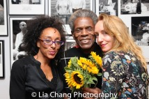 Olivia Bowman-Jackson, André De Shields and Evan Lee Breed Photo by Lia Chang