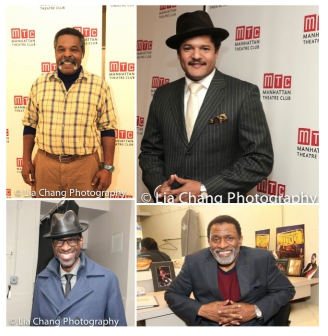 Ray Anthony Thomas, Brandon J. Dirden, Brian D. Coats and Jerome Preston Bates. Photos by Lia Chang