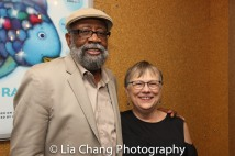 Bill Sims, Jr. and his wife Karen Wilson. Photo by Lia Chang