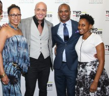 Tamara Tunie, KeiLyn Durrel Jones, Carl Cofield and Erin Cherry. Photo by Lia Chang