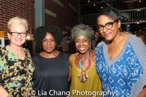 Terria Joseph, Elain Graham, Marjorie Johnson, Inga Ballard. Photo by Lia Chang