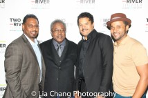 James Dirden, Willie Dirden, Brandon J. Dirden and Jason Dirden. Photo by Lia Chang