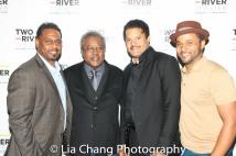 James Dirden, Willie Dirden, Brandon J. Dirden and Jason Dirden. Photo by Lia Chang