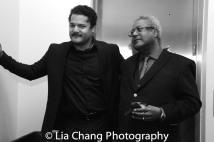 Brandon J. Dirden and Willie Dirden. Photo by Lia Chang
