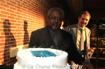Willie Dirden celebrates his 72nd birthday. Photo by Lia Chang