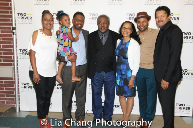Willie and Deborah Dirden with their daughter, Maria, granddaughter, Emerson, and their sons, James Dirden, Jason Dirden and Brandon Dirden. Photo by Lia Chang