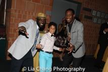 Charlie Hudson III, Owen Tabaka and Andrew Binger. Photo by Lia Chang