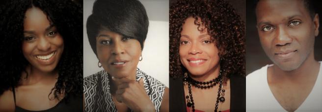 Maechi Aharanwa, Pauletta Washington Denise Burse and Warner Joseph Miller.
