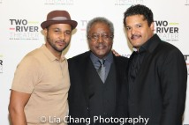 Jason Dirden, Willie Dirden and Brandon J. Dirden. Photo by Lia Chang