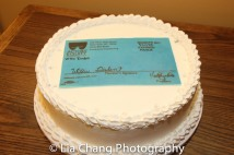 Willie Dirden's birthday cake. Photo by Lia Chang