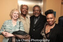 A guest, Allie Woods, Willie Dirden and Jeanine Foster-McKelvia. Photo by Lia Chang