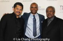 Brandon J. Dirden, Carl Cofield, Willie Dirden. Photo by Lia Chang