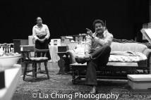 Brenda Pressley and Brandon J. Dirden Photo by Lia Chang