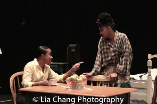 Brenda Pressley and Crystal A. Dickinson Photo by Lia Chang