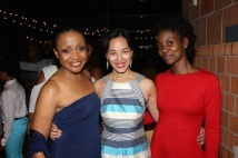 Brenda Pressley, Lia Chang and Joniece Abbott Pratt. Photo by Garth Kravits