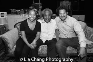 Crystal A. Dickinson, Willie Dirden and Brandon J. Dirden Photo by Lia Chang
