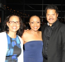 Deborah Dirden, Brenda Pressley and Brandon J. Dirden. Photo by Lia Chang