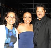 Deborah Dirden, Brenda Pressley and Brandon J. Dirden. Photo by Lia Chang