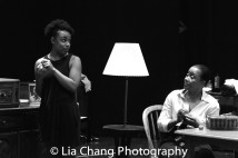 Jasmine Batchelor and Brenda Pressley Photo by Lia Chang