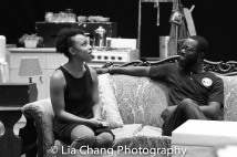 Jasmine Batchelor and Charlie Hudson III Photo by Lia Chang