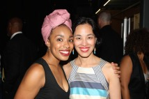 Jasmine Batchelor and Lia Chang. Photo by Garth Kravits