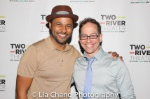 Jason Dirden and Garth Kravits. Photo by Lia Chang