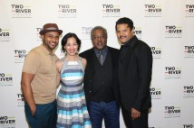 Jason Dirden, Lia Chang, Willie Dirden and Brandon J. Dirden. Photo by Garth Kravits