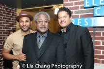 Jason Dirden, Willie Dirden and Brandon J. Dirden. Photo by Lia Chang